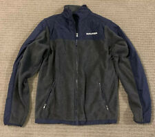 Nautica Youth Full Zip Jacket/Coat Size Xl (18-20) Blue/gray Polyester On Fleece
