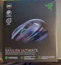 Razer Basilisk Ultimate HyperSpeed Wireless Gaming Mouse w/ Charging Dock