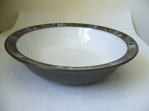 DENBY MARRAKESH SOUP CEREAL DESSERT BOWL SECOND QUALITY GOOD USED CONDITION N