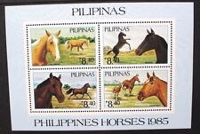 PHILIPPINES 1985 Horses and Ponies. SOUVENIR SHEET. Mint Never Hinged. SGMS1904.