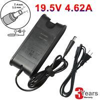 For Dell Latitude E7250 E7450 E6540 E6520 90W AC Charger Power Cord Adapter FAST