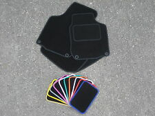 Car Mats to fit Volvo S40/V50 (2004-2012) - Optional Coloured Trim + Fixings