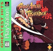 Battle Arena Toshinden - PS1 PS2 Playstation Game