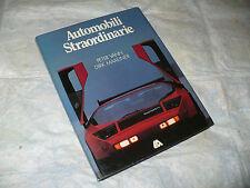 AUTOMOBILI STRAORDINARIE PETER VANN DIRK MAXEINER 1983 1a ED.LIBRERIA AUTOMOBILE