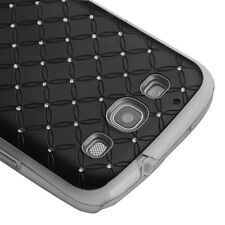 Samsung Galaxy S III 3 S3 HARD Executive Case Phone Cover Black Dazzling Diamond