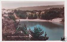 Blue Pool Furzebrook Wareham Real Photo Postcard c1910