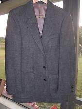 Sergio Valente Men's Wool Jacket Grey / Black 38 Regular - view the pics