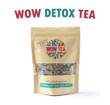 DETOX WOW TEA 21 Day Supply Flat Tummy Cleanse Weight Loss Skinny Slimming BEST