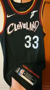 Brodric Thomas 2020-21 Cleveland Cavaliers Game Worn Authentic Jersey Meigray