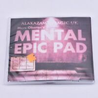 Mental Epic Pad Gimmick + DVD Magic Tricks Prediction Close Up Props Mentalism