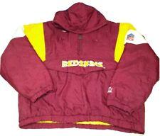 Vintage NFL Washington Redskins Starter Jacket Pullover  Coat Pro Line Size XL