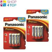 12 PANASONIC ALKALINE PRO POWER AAA LR03 BATTERIEN BLISTER 1.5V AM4 MN2400 NEU