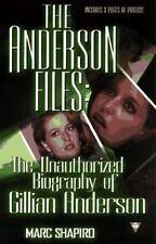 The Anderson Files -bio of X-Files' Gillian Anderson
