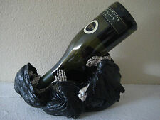 Reaper of Grapes Grim Reaper Wine Bottle Holder Statue