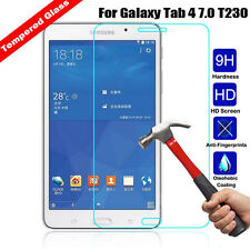 """Genuine Tempered Glass Screen Protector for Samsung Galaxy Tab 4 7.0"""" T230"""