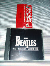 THE BEATLES PAST MASTERS VOL. 1..  RED OBI.. 3200 YEN  AUTHENTIC JAPAN RELEASE!