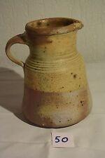 C50 Authentique cruche en grés poterie avec cachet