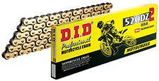 did 520 dz2 professional motocross kette gold 120 glieder enduro/offroad/mx