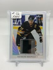Raymond Bourque 2018 Leaf Hockey Patch 1/2 Boston Bruins Legend