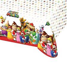 Amscan - 9901539 Nappe Plastique Nintendo Super Mario 120 x 180 cm
