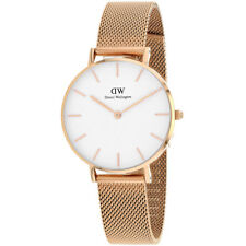Daniel Wellington Women's Petite Melrose Stainless Steel Mesh Watch DW00100163