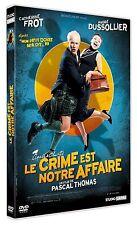 """DVD """"LE CRIME EST NOTRE AFFAIRE """" Catherine Frot, André Dussollier  neuf"""