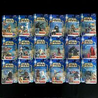 Star Wars Attack of the Clones Action Figure Lot - Hasbro 2002 - 18 Figures Rare