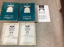 1998 Ford F-150 F150 F250 F-250 TRUCK Service Shop Repair Manual Set W LOTS