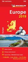 Europe 2019 National Map 705 by Michelin - Folded Sheet Map