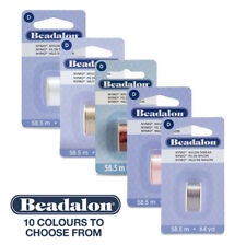Beadalon Nymo hilo de nylon color Tamaño D 58.5m X 0.3mm Carretes