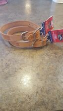 Justin Pet Western Leather Collar small