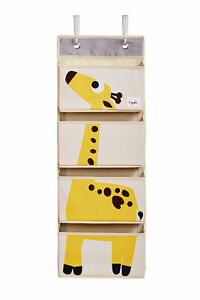 3 Sprouts Hanging Wall Organizer- Storage for Nursery and Changing Tables,
