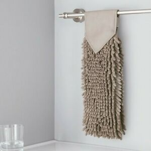 NEW Norwex Chenille Hand Towel MUSHROOM