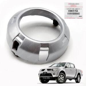 Fog Lamp Light Cover Trim Genuine Silver For Mitsubishi L200 Triton 2006 - 2009