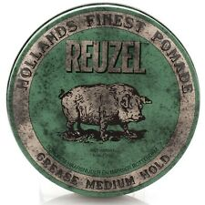 REUZEL GREEN PIG POMADE GREASE MEDIUM HOLD 113g FREE SHIPPING