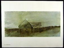Andrew Wyeth Gravure Print ISLAND HOUSE, Teel's Island