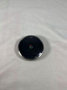 Google Nest Learning Thermostat 3rd Gen) Programmable Alexa WiFi Black