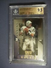 PEYTON MANNING 1998 Playoff Momentum Hobby Rookie #98 BGS GEM MINT 9.5 RC Colts