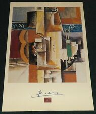 PABLO PICASSO GUITAR AND VIOLIN 1996 POSTER PRINT