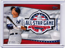 Aaron Judge Yankees 2018 All-Star Game Commemorative Patch Topps Fanfest 067/100