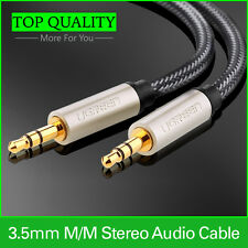 3.5mm AUX Cable Audio Auxiliary Cord for Smartphone / Car / iPod / PC / MP3/  1M