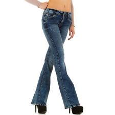 Klassische Hosengröße 36 stonewashed Damen-Jeans