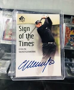 2013 SP AUTHENTIC GOLF - COLIN MONTGOMERIE - SIGN OF THE TIMES🔥🔥