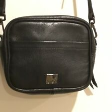 Kooba Black Leather Crossbody Handbag