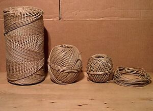301 (3mm) Flax Twine/Laid Cord for UPHOLSTERY/SPRINGING