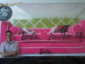 NRFB Barbie Jonathan Adler 50th Anniversary Sofa - Happy Chic Gift Set -  Pink
