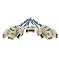 10x G9 Lampenfassung Sockel inkl. Kabel für Halogen & LED max. 500W