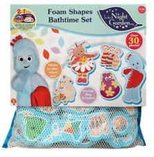 IN THE NIGHT GARDEN BATHTIME BATH FOAM TOYS SHAPES SET With Storage Bag