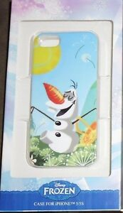 LOUNGEFLY DISNEY FROZEN OLAF THE SNOWMAN IPHONE 5 5S CASE NEW!