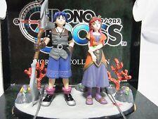 CHRONO CROSS Diorama Figures Serge & Leena Completed Pair